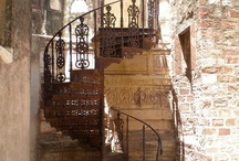 Staircases / I love the spiral staircases and the unusual looking ones!