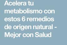 Infusions per accelarar el metabolisme