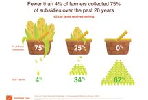 Farm Subsidies / Our farm subsidies allow large agribusinesses to increase their profits at taxpayer expense.  They also contribute to America's obesity and other health problems by subsidizing junk food products. If you're concerned about Americans' economic and physical health, explore this proposal for ways to improve farm subsidies. Check out our Farm Subsidies Chisel Bit https://thechisel.com/chiselbit-farm-subsidies