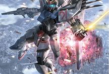 Gunpla Illustrations & Arts / Gunpla Ilustrations. Inspiration for Detailing Gunpla. Box Arts. Gunpla Sketches.