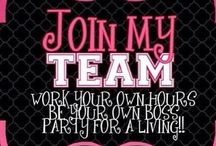 Home Based Business - Join My Team Poster Ideas