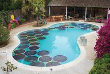Solar pool diy