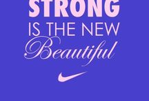 Fit strong women