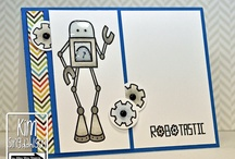 TAWS Bot Time / This is a fun set using the Bot Time set from www.thealleywaystamps.com