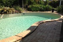 Swimming Pool Renovations / Swimming Pool Renovations using an Aqualux Pool Finish. Suitable for Concrete, Fibreglass and Steel Wall Panel Pools.