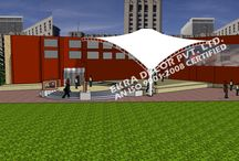 Tensile Structure delhi / Ekra Decor - Established in the year 1998, are well known by its name in the field of design and construction of Tensile structure, Parking Shades, Polycarbonate Structure,  http://www.tensilefabricstructure.com/