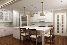 Say hello to one of the trendiest innovations in kitchen designs – the kitchen island! / Originally designated as merely an additional space to prepare food – has evolved into the social center of the home. Today, this is where families and friends gather to eat, chat, do paperwork and supervise their children's school assignments.    http://bit.ly/1SJhHhr