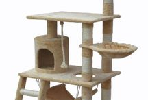 Cool Cat Condos & Houses / Cat condos and cat house products and ideas I've found to keep cats happy and warm.