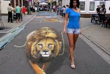 3D street art / by Rita Niland