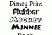 Fonts/Printables / by Kendall Rowe