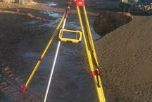 Equipment in use / Zenith survey and safety kit on site.