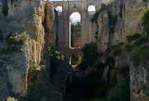 Bridge aqueduct pass