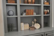 bookcases and millwork
