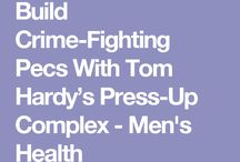 Tom Hardy arms