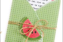 Free Summertime Card Patterns / by Craft Downloads
