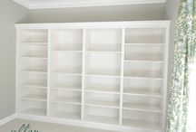 Library / Gym Ideas / Ideas for the library /gym, mainly billy bookcase hacks