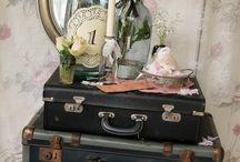 Old Luggage Repurposed