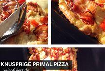 Pizza mit Tapioka