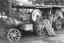 UK derelict engines B&W