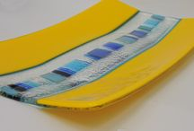yellow glass designs by jenie yolland