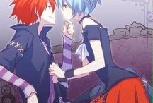 Nagisa x Karma (Assassination Classroom)