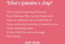 Galentine's Day 2015   Lady Project / Our favorite Lady Day of the year!