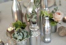 Bottiglie argento / Bottiglie