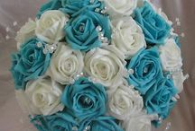 Turquoise wedding / Beautiful inspiration for the other half of my colour scheme.