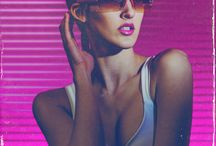 Radically 80s / Neon & chrome.  / by Justin Mezzell