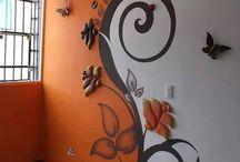 szoba fal