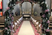 Church Decorations / Here at Enchanted Weddings we offer a Church Decorating service with a wide of props that we hire out.