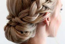 Bridesmaid hair shevonne