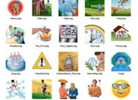 Aurora Symbols / Intuitive and Fun Picture-to-Speech Communication for Nonverbal Children