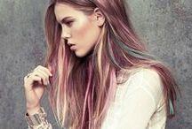 Pastel hair!