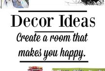 Decorating / Ideas for decorating your home