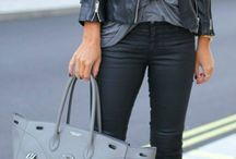 Outfit black trousers