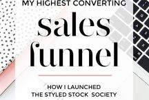 Sales Funnels and Email Marketing for Mom Bosses / Email Marketing, Sales Funnels, Online Business, Mompreneuers