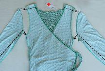 Barnkläder av vuxenkläder