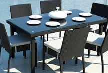 Mina Modern / Stolička MINA bez opierok a čalúnením z umelého ratanu.   - čalúnenie poskytuje dokonalý komfort sedenia  - v prípade potreby sa dá povlak sňať s možnosťou prania alebo výmeny     - konštrukcia umožňuje uložiť jednu stoličku na druhú a tým sa stoličky stávajú stohovateľné     Konštrukcia je zo zváraného hliníka, výplet z kvalitného polyuretanu, čalúnenie z polyesteru impregnovaného teflónom – je možné prať, bez aviváže .