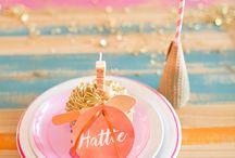 ice cream social / party decor