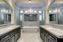 Luxurious Bathrooms / When you need to relax and unwind, there's no better place than a cozy and elegant bath.