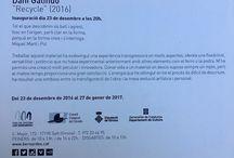Exposicions Desembre 2016 / Les exposicions de Les Bernardes de desembre de 2016 a gener de 2017.