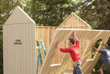 shed building