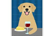 Lee ArtHaus Golden Retriever Dog Products / Lee ArtHaus Golden Retriever Dog Products