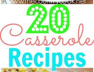 Casseroles / Various pasta and non pasta dishes