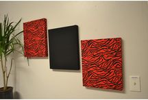 Wall Decor Ideas / NOT CRAFTY??? DON'T HAVE TIME??? CAN'T DECIDE ON FABRIC???. Let us help you at Push Pins And Fabric Cork Boards/com You can use any of our over 900 fabrics or you can send us your own fabric. See our WALL ART department at http://www.pushpinsandfabriccorkboards.com/fabric-wall-art-and-collages/  / by Push Pins And Fabric Cork Boards
