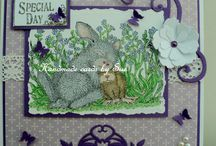 House Mouse cards by me!!!
