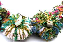 Textile art and craft other than felting