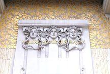Vienna Secession  & John Henry Klutho / Inspiration