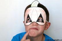 Cách làm mặt nạ Halloween cho bé cực đơn giản